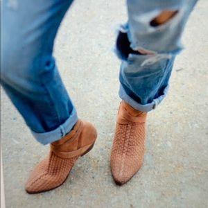 Free people suede venture desert ankle bootie